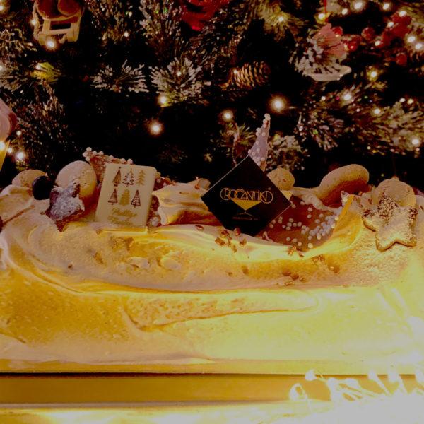 Kerststronk Croccantino