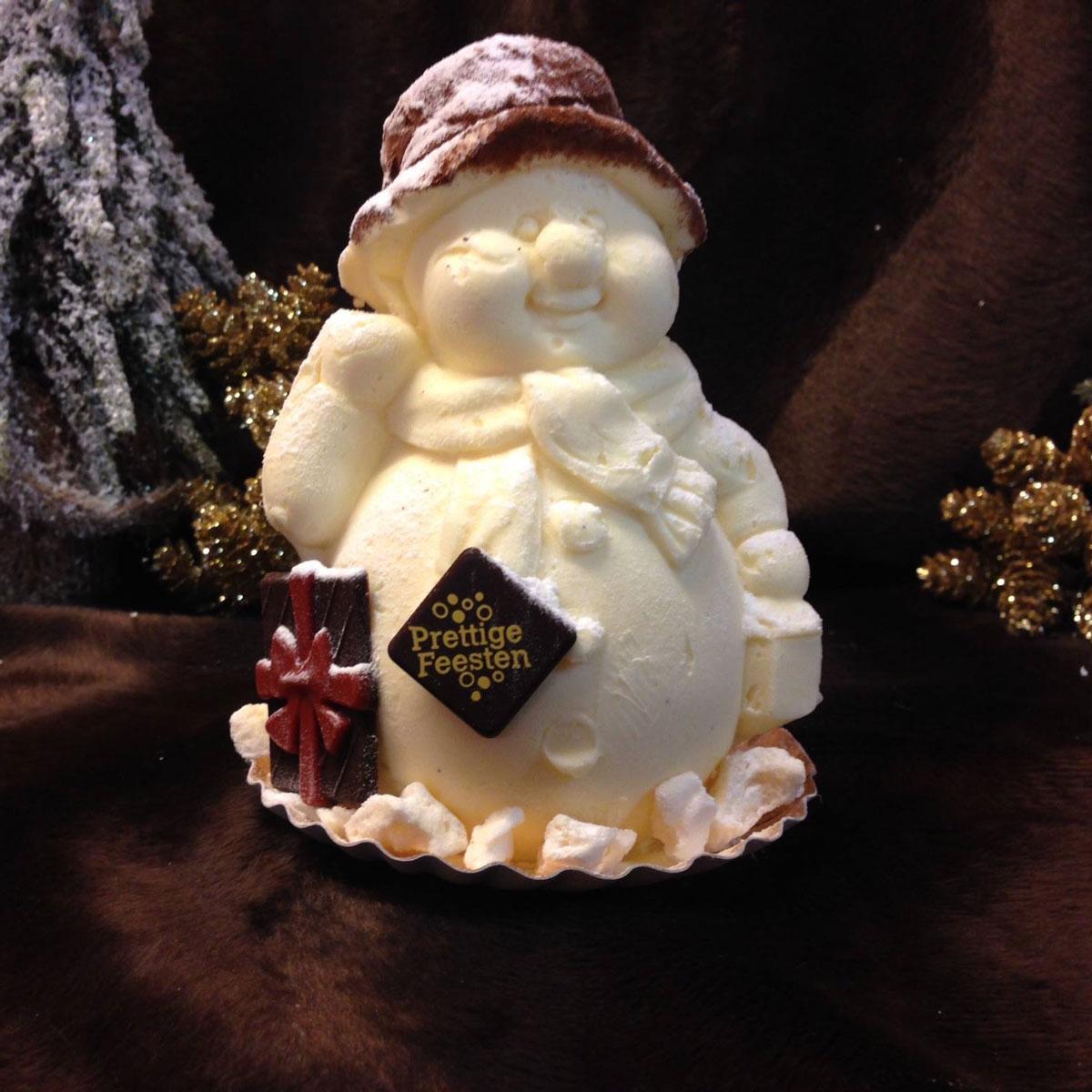 Sneeuwman Kerstman koppel 2 pers